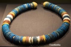 String of Flat Beads from Tutankhamun's Tomb