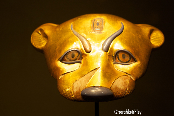 Leopard Head from the Tomb of Tutankhamun